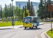 Electric campus shuttle helps U. of Alaska Fairbanks reduce footprint