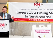 San Antonio VIA's new CNG fueling station largest in North America