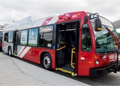 VIA debuts first of 400-plus new CNG buses