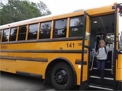 A 30-second video from Radio Engineering Industries educates the public on the need to stop for school buses that are loading or unloading students.