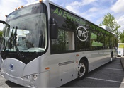 BYD electric bus wins L.A. Sustainability Coalition award