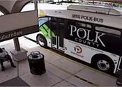 Fla. man headbutts bus, loses