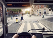 Volvo Buses unveils pedestrian and cyclist detection system