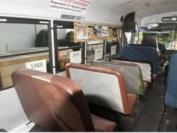 PHOTOS: 60 Years of School Bus Seats