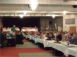 After more than three decades in Warrensburg, Missouri, the National Congress on School Transportation will move to a new location next year. Pictured is the 2010 congress in Warrensburg.
