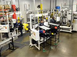 The automated slack adjuster assembly cell at Accuride's Rockford, Illinois, facility has significantly improved quality processes for its Gunite standard and Gunite 2000 slack adjusters, allowing it to raise warranty coverage, company officials said.