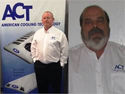 Rick Coffman (left) and Bill Schroyer have joined the field sales and customer support team for bus air-conditioning supplier American Cooling Technology.