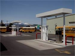 Bend-La Pine Schools has 53 propane buses and two separate propane fueling stations, each with a 2,000-gallon tank.