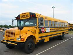 Medford Township Public Schools bought this bus in October of 1997 and began filling it with B20 biodiesel the next month. More than 13 years later, the bus has logged 190,000 miles.