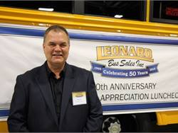 Charlie Bruce is Leonard Bus Sales' new director of business operations. He has served as chief operating officer for both First Student and Durham School Services.