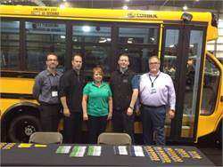 Collins Bus and The Bus Centre personnel are pictured here at this year's Canadian Pupil Transportation Conference in Saskatchewan.