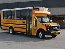 The first four production units of Collins' compressed natural gas NEXBUS went to Pennsylvania's Lower Merion School District.
