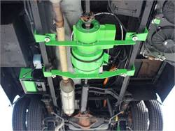 The Kinetics Hybrid is a bolt-on parallel electric system that fits various school bus chassis.