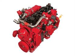 Cummins Westport's new ISB6.7 G is a 6.7-liter mid-range natural gas engine.