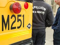 PHOTOS: First responders train on propane school buses