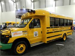 California's Kings Canyon Unified School District will reportedly receive the first of the new SST-e all-electric school bus from Trans Tech Bus and partner Motiv Power Systems.