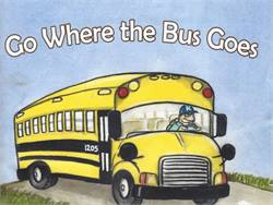 Bus driver's book teaches safety to young riders