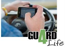With Guard4Life Inc.'s TextGuard app, a manager is alerted if a driver uses the phone when the vehicle's speed is above 9 mph.