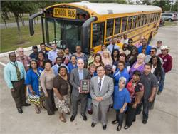 Texas district awarded for transportation performance