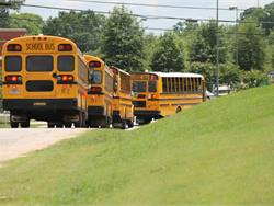In an effort to mitigate a driver shortage, Henry County Schools will give drivers raises ranging from 5% to 21%. Newer drivers will receive the biggest pay bump. Photo by JD Hardin, Henry County Schools
