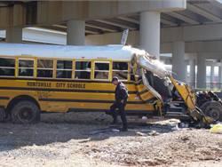 NTSB: Bus driver in Huntsville crash was unbelted