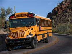 IC Bus school buses are now available with FuelSense Basic in the Allison 1000 and 2000 series transmissions paired with either the Cummins ISB 6.7-liter engine or the MaxxForce DT engine.