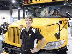 """IC Bus exec Trish Reed says that a focus on choices is part of the company's """"open integration strategy."""""""