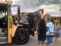PHOTOS: Back to school safety drill for bus drivers