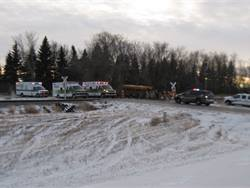 Bus driver Max Danner had a significant heart condition, but that did not cause the fatal school bus-freight train collision near Larimore, North Dakota, officials said.Photo courtesy North Dakota Highway Patrol