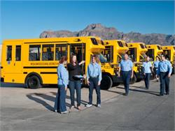 Mesa Public Schools reports savings of about 25.1 cents per mile for the propane Micro Bird Type A school buses it began running last fall.