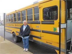 Mona Clifton has been a special-needs school bus driver for 22 years.