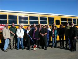 Transportation staff at Nevada's Storey County School District took part in a full day of interactive security training with consulting firm ApexSCF.