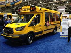 New Micro Bird Type A bus turns heads at trade show