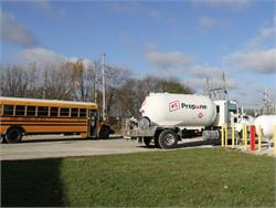 Olympia CUSD now has more than a third of its buses running on propane, which officials say is lowering operating costs and yielding other benefits.