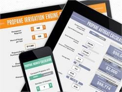 The Propane Education & Research Council's calculator tools compare propane costs to those of conventional fuels like gasoline and diesel.