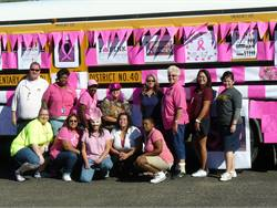 PHOTOS: District 'paints it pink' for breast cancer awareness