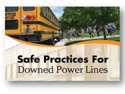 "The ""Safe Practices for Downed Power Lines"" training program was developed by the National Association for Pupil Transportation and the School Bus Safety Co."