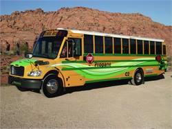 Free webinar to discuss Thomas Built's propane bus