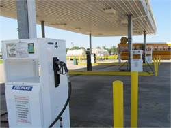 Fuel and infrastructure tax credits for propane (pictured), natural gas and biodiesel have been retroactively extended through 2014. Photo courtesy Texas Railroad Commission