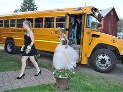 This photo, from Laurie Smith of Richfield Springs (N.Y.) Central School, was awarded an Honorable Mention in our 2014 Photo Contest. It shows the value of the yellow school bus in student access to extracurricular activities.