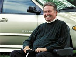 Ralph Braun, who was diagnosed with spinal muscular atrophy at age 6, went on to develop innovative mobility products, including a motorized scooter and a vehicle wheelchair lift.