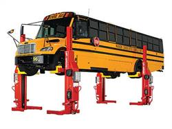 Bobby's Truck and Bus Repair will use a $27,000 state grant to buy a Rotary mobile lifting system.