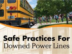 Training program for downed power line practices