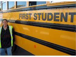 Bus driver Rosemarie Fullone used her instincts to help a lost student with Down syndrome get back to her family.