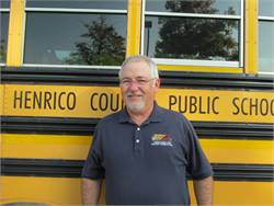 Josh Davis, the director of pupil transportation at Henrico County Public Schools, oversees a fleet of more than 600 school buses and over 600 employees.