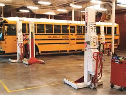 Walla Walla (Wash.) School District is the host district for the Southeast Washington Transportation Cooperative. The cooperative only charges $45 an hour for labor, compared with hourly rates at large vehicle repair shops in the area, which can run up to $115.