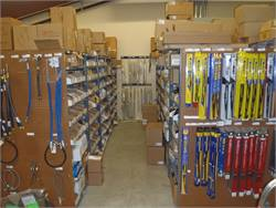 Spring ISD reorganized its two-story parts room last year and now groups fast-moving parts in one area for quicker access.
