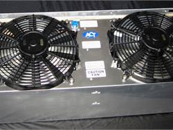 Skirt-mount condensers