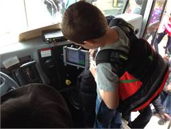 Secured Mobility's SMART tagenables drivers to quickly view on a tablet student information, including a photo, assigned seat and stop, and medical needs.