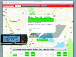 SafetyTrax AVL tire pressure integration